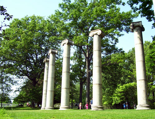 Ionic Columns from the Armstrong Mansion