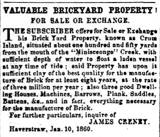 Rockland County Messenger, Thursday, April 26, 1860