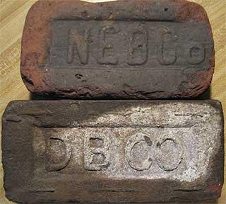Architectural & Garden Purposeful Antique Medal Block Co Brick